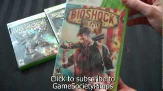 UnBoxing - Bioshock Infinite (Standard XBox 360 Version) - Adam Koralik