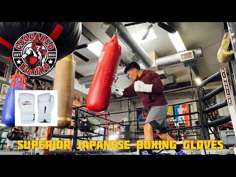 HEAVY BAG TRAINING- Superior (Winning) Japanese Style Boxing Gloves