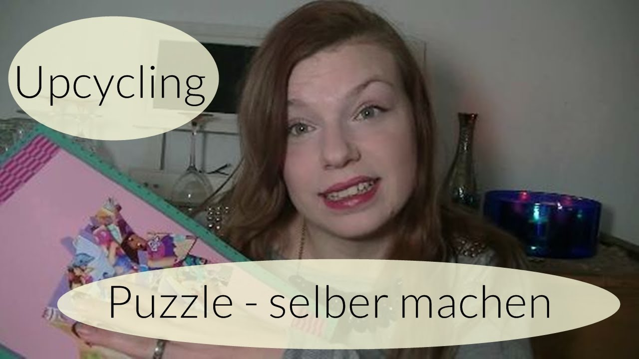 puzzle selber machen i upcycling i basteln mit kindern i deutsch finola 2016 youtube. Black Bedroom Furniture Sets. Home Design Ideas