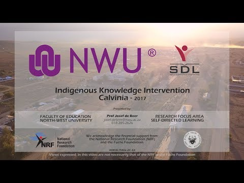 NWU Indigenous Knowledge Intervention - Calvinia 2017 (Full Overview)