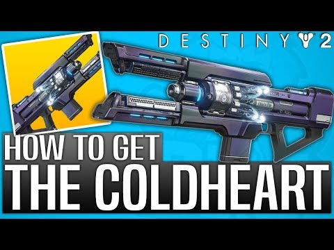 Destiny 2 - How To Get The COLDHEART EXOTIC (After Code Redemption)