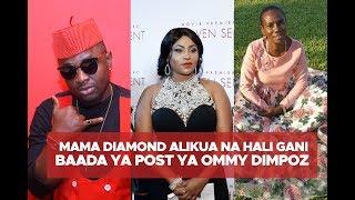 ESMA KAULIZWA: Mama Diamond alikua na hali gani baada ya post ya Ommy Dimpoz