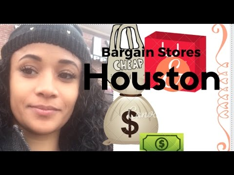 VLOGMAS 6: THE CHEAPEST BARGAIN STORES IN HOUSTON | LetNicoleTalk