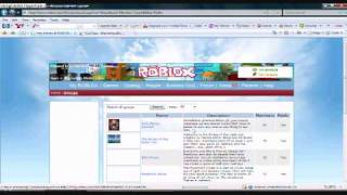 M.H.II Tutorials: How to Find and Join groups on roblox