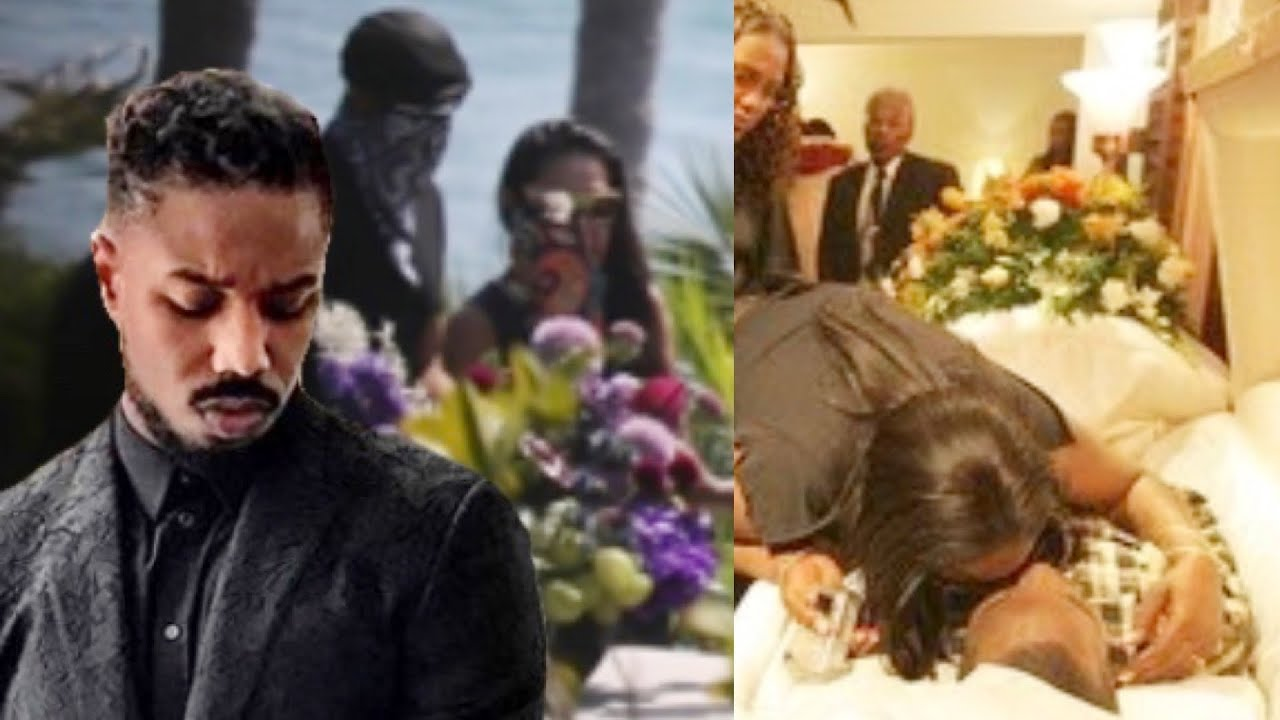Download Black Panther Cast At Chadwick Boseman Memorial (Hard Not To Cry)