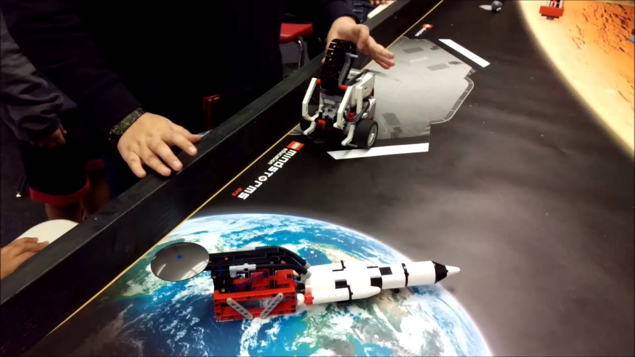 """""""LEGO Mindstorms EV3 Space Challenge: Initiate The Launch ..."""