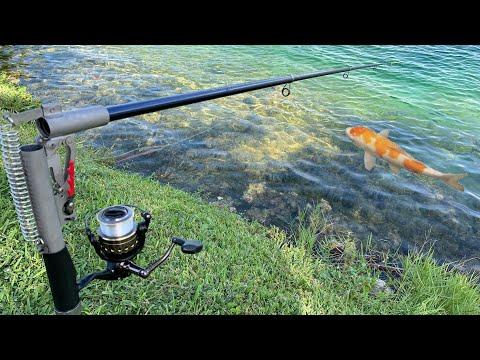 AUTOMATIC SELF-SETTING FISHING ROD! *EPIC*