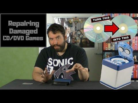 Repair Damaged CD/DVD Videogames - Adam Koralik