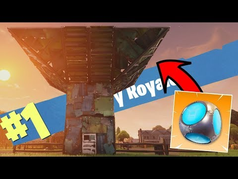 *NIEUWE* Port-a-Fort BASIS IS SICK?! - Fortnite Battle Royale