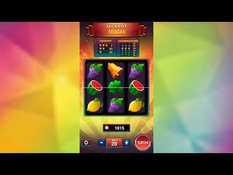 Slot Machine Deluxe With AdMob - Android Studio (Source Code)
