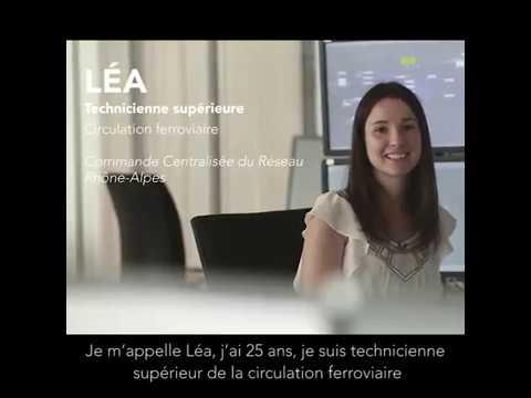 Léa Responsable En Poste D Aiguillage Chez Sncf