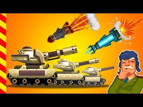 Мультики про танки для детей. Война танков - сражение стальных монстров. Мир танков - мультик игра