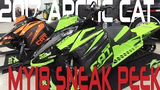 STV 2017 MY18 Sneak Peek Arctic Cat
