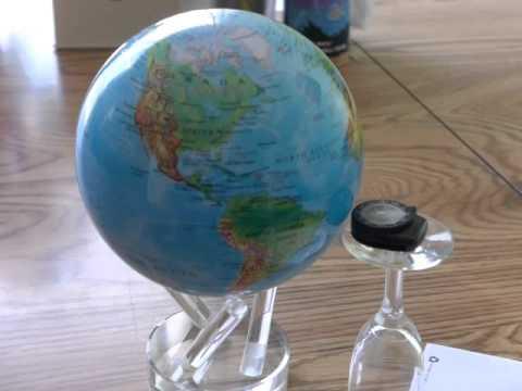 Mova Globe Compass Interaction