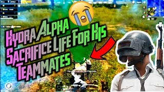 HYDRA ALPHA SACRIFICE HIS LIFE FOR HIS TEAMMATES ft DYNAMO GAMING & GAREBOO #PUBG MOBILE HIGHLIGHTS