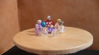 Dollhouse Miniature Perfume Bottles
