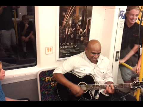 Awesome guy on Perth train after Glory match 2