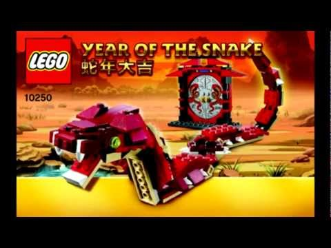 LEGO 10250 Year of the Snake Images