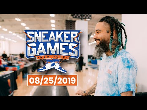 Hitting up Sneakergames in NYC + getting ready for our 5 yr anniversary! Giveaways + more. thumbnail