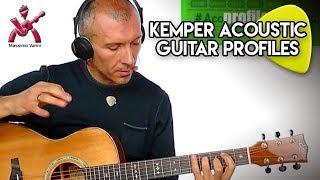 Profilazioni per Chitarra Acustica / Kemper Acoustic Guitar Profiles from Massimo Varini