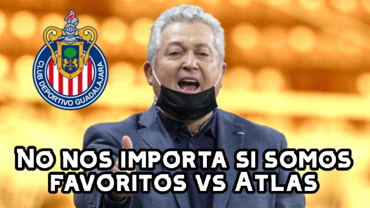 🚨Vucetich CALIENTA el Clásico Tapatío | Noticias Chivas | Atlas vs Chivas 2021