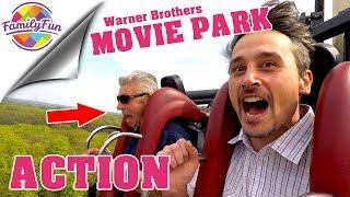 MEGA ACHTERBAHN Spaß und Action |  Movie Park Germany Bottrop -  Family Fun