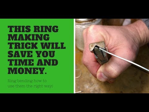 Sterling Silver Ring Making - #1 Thing people miss! - Create a perfect circle