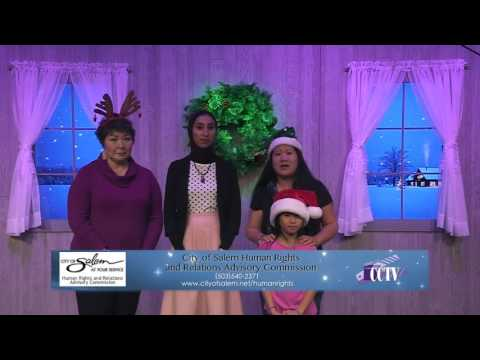 Holiday Greetings 2016 City of Salem Human Rights and Relations Advisory Commission