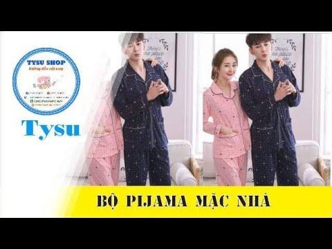 Hướng dẫn cắt may TysuShop số 968: Bộ PiJama Mặc Nhà