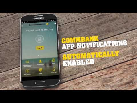 CommBank App NetCode Notifications