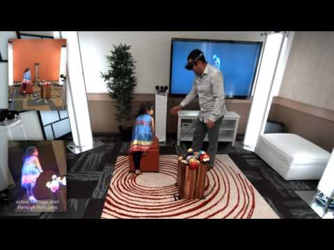 holoportation: virtual 3D teleportation in real-time (Microsoft Research)