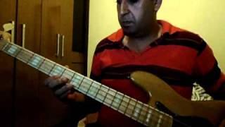 baixo Julio Andrade bass aprendendo Tears For Fears - Head Over Heels