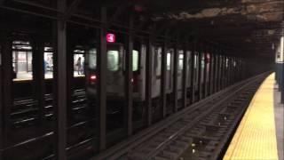 nyc subway hd 60fps bombardier r142 4 train r62a 6 train bleecker street 3 31 17