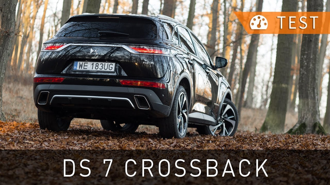 ds 7 crossback bluehdi 180 grand chic 2018 test pl project automotive youtube