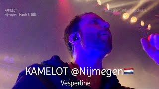 KAMELOT - Vespertine - WORLD'S FIRST LIVE @Doornroosje, Nijmegen - March 8, 2019 4K