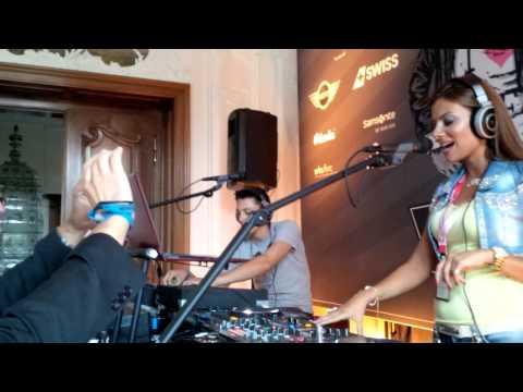 rania younes of Star FM Abu Dhabi @ international radio festival 2013