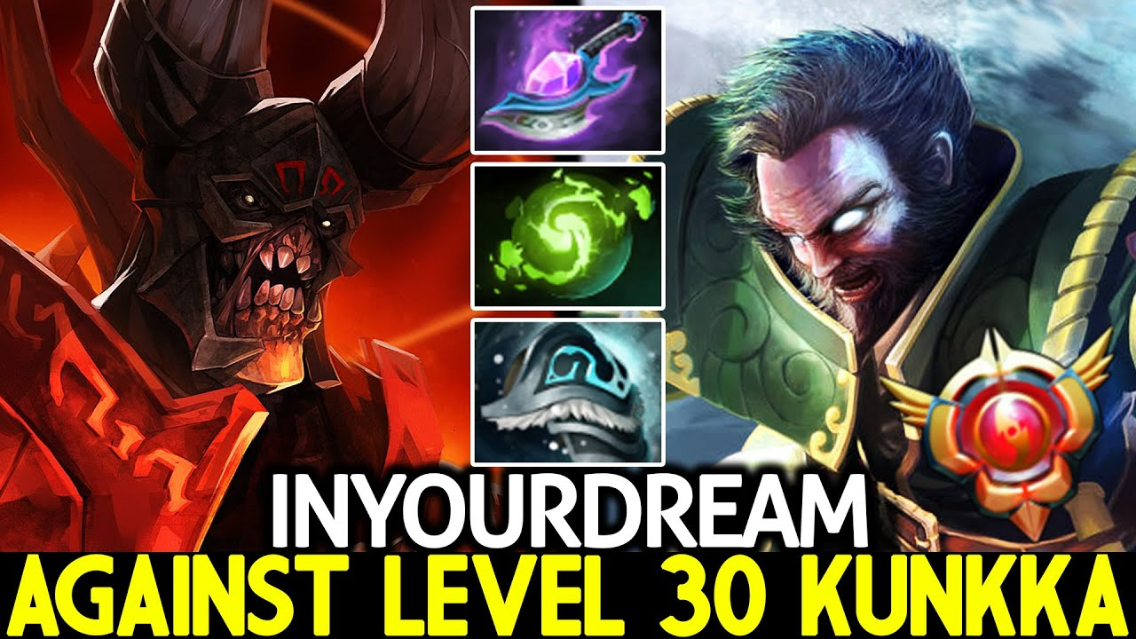 INYOURDREAM [Doom] Tryhard Against Attacker LVL 30 Kunkka Dota 2