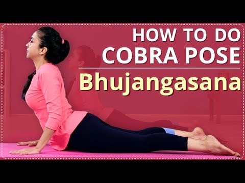 How To Do COBRA POSE | Step By Step Bhujangasana | Simple Yoga Lessons | Yoga For Beginners