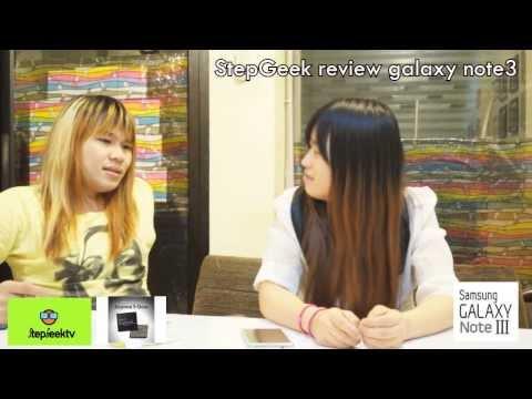 StepGeek Review Samsung Galaxy note3