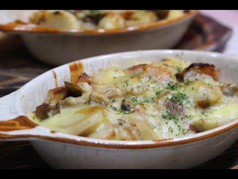 簡単レシピ里芋のチーズグラタン