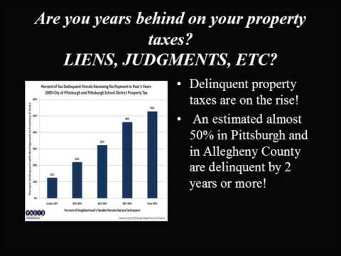 Allegheny County Delinquent Property Tax, Pittsburgh Real Estate