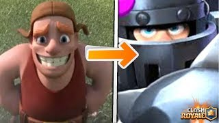 Builder becomes Mega knight?! Builder Found in Clash Royale!