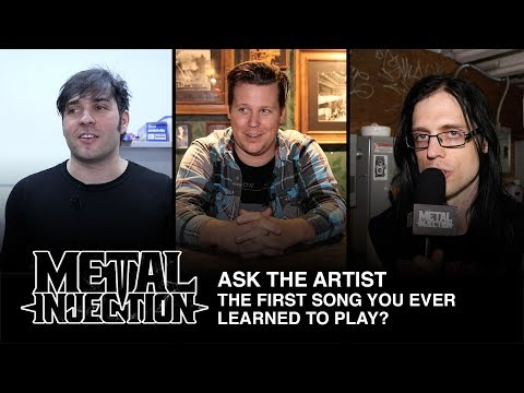 ASK THE ARTIST: What Was The First Song You Learned To Play? | Metal Injection