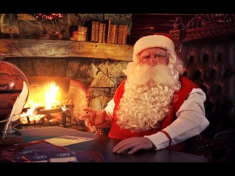 Video message from Santa for kids 2015 (EXAMPLE)