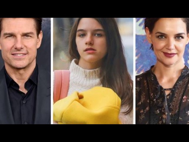 Suri,Tom Cruise & Katie Holmes\' daughter is14  We can\'t believe she has not seen her dad in 8 years