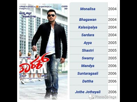 Challenging star darshan movies list