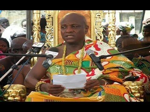 Togbe Afede condemns slave trade in Libya