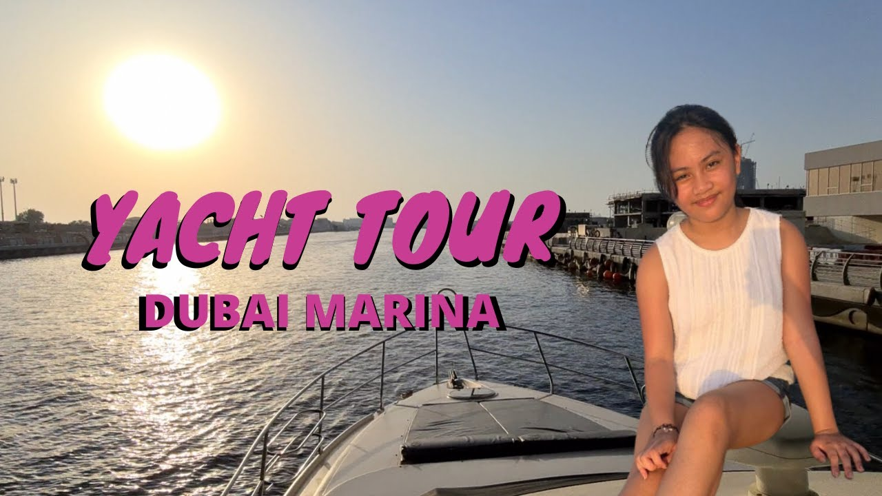 YACHT TOUR | DARLENE MANUEL