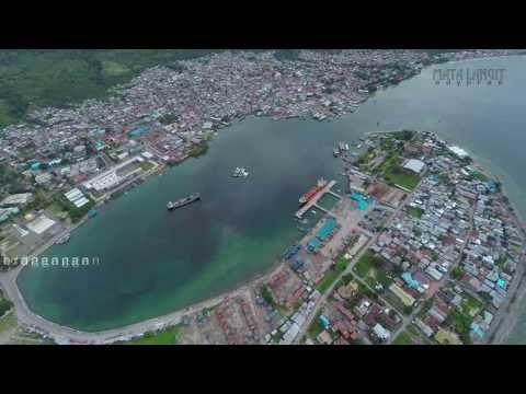 LUWUK BANGGAI SULTENG (AERIAL)