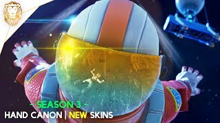 Fortnite Battle Royale | SEASON 3 Is Here! NEW Hand Canon! NEW Skins! Above Average Gameplay...